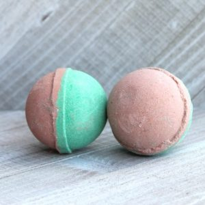 chocolate mint bath bomb