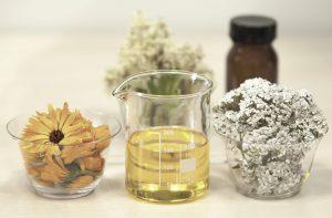 facial oils and scrub options