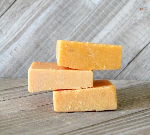 Mango scrub soap